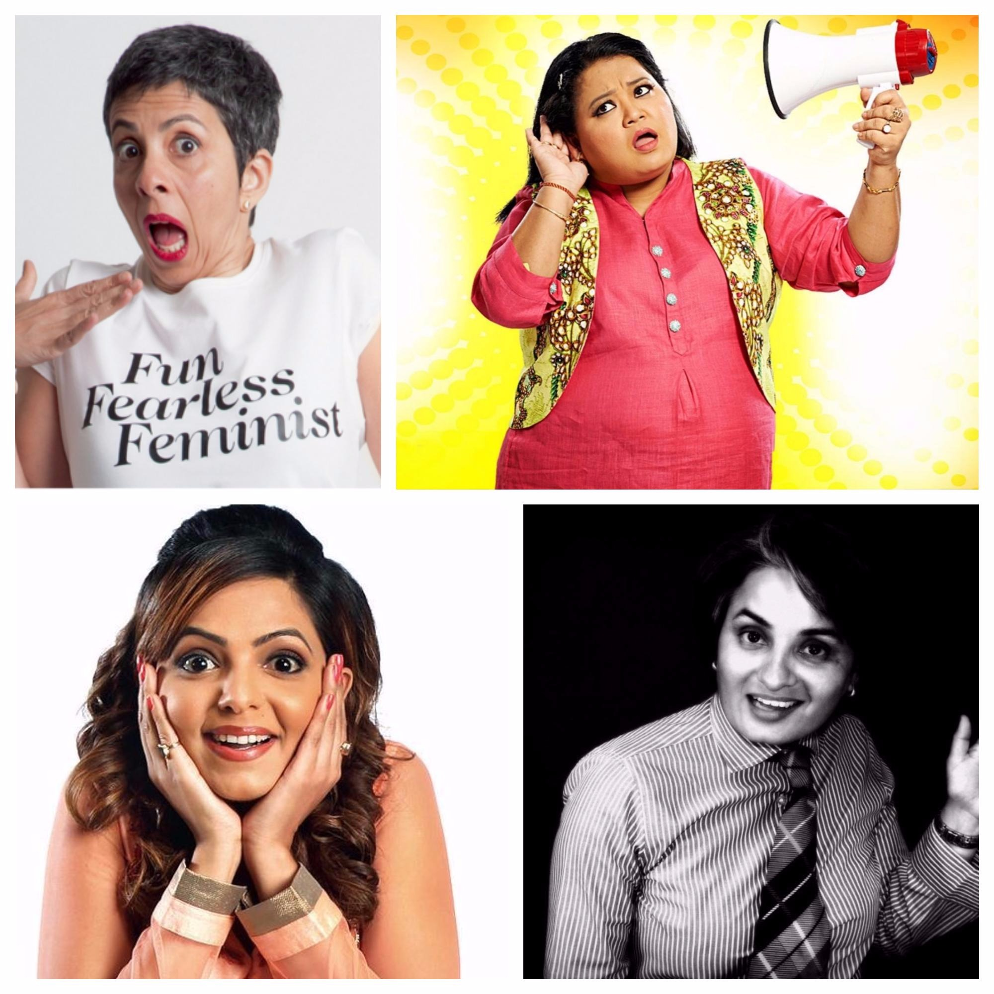 7 Delightfully Hilarious Female Stand-up Comedians Of The Country