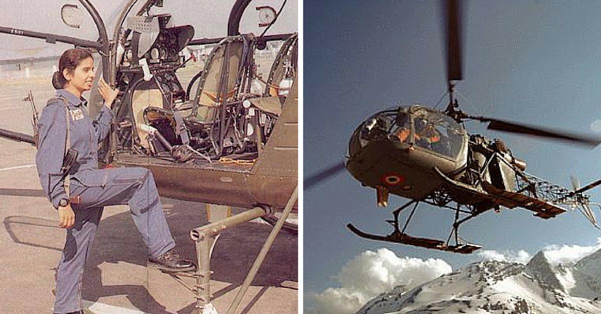 She-Inspires: Gunjan Saxena & Srividya Rajan- First Indian Women To Fly In A War Zone